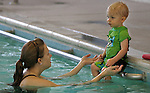 Young swimmers take to the pool at the Carson City Aquatics Facility on Feb. 4, 2011 in Carson City, Nev..Photo by Cathleen Allison