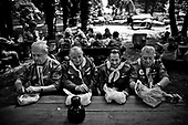 Zielona Gora 22-24 August 2008, Poland<br /> XVII National Meeting Seniors and elders of the Polish Scouting Association. Since 1980 scouting elders began to organize among seniors. In meeting involved 319 people. The youngest participant was 32 years, the oldest 91.<br /> <br /> (&copy; Filip Cwik / Napo Images for Newsweek Poland)<br /> <br /> Zielona Gora 22-24 sierpien 2008 Polska<br /> XVII Ogolnopolski Zlaz Seniorow i Starszyzny Zwiazku Harcerstwa Polskiego. Od 1980 roku starszyzna harcerska zaczela organizowac sie w kregach seniorow. W zlazie uczestniczylo 319 osob. Najmlodszy uczestnik mial 32 lata, najstarszy 91.<br /> <br /> (&copy; Filip Cwik / Napo Images dla Newsweek Polska)