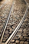 Tram Track, Ghent, Belgium, Europe