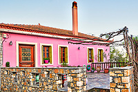 Traditional house at the old Chora of Alonissos island, Greece