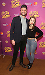 Ben Crawford and Emma Pfaffle attend the ''Charlie and the Chocolate Factory' Cast Photo Call at the New 42nd Street Studios on February 21, 2017 in New York City.