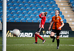 Jade Pennock of Sheffield Utd reacts to a missed chance during the The FA Women's Championship match at the Proact Stadium, Chesterfield. Picture date: 8th December 2019. Picture credit should read: Simon Bellis/Sportimage