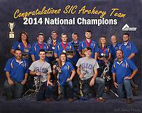 SIC Archery Team 2014-15
