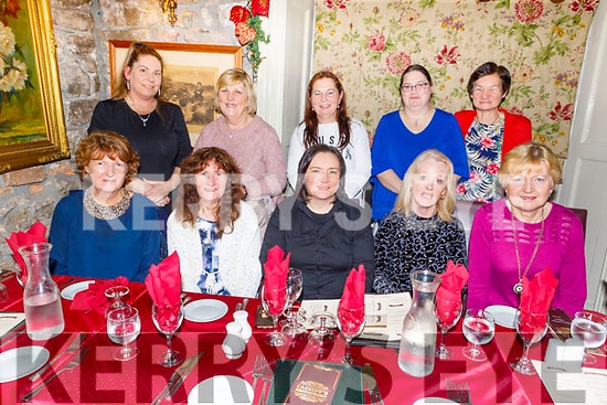 Enjoying Little Women's Christmas in Cassidys on Saturday.<br /> Seated l to r: Ann Gurnett, Mary Hartnett, Regina O'Connor, Angela Dillane and Mary Nolan.<br /> Back l to r: Corina Sayers, Madeline Brosnan, Julie Byrne, Jessica Hilliard and Noreen Deady.