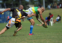 Wellington v Hutt Valley over-45s on day three of the 2018 New Zealand Tag Football Nationals at Fraser Park in Wellington, New Zealand on Sunday, 25 February 2018. Photo: Dave Lintott / lintottphoto.co.nz
