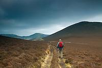 The  John Buchan Way from near Broughton, Scottish Borders