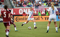 Jacksonville, FL - Thursday April 5, 2018: Abby Dahlkemper during an International friendly match versus the women's National teams of the United States (USA) and Mexico (MEX) at EverBank Field.