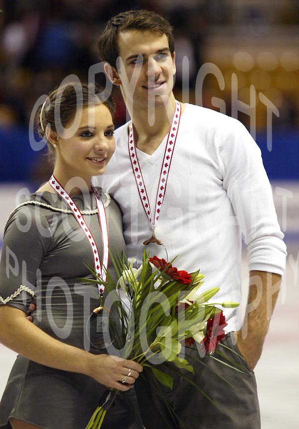Jessica Dube and Bryce Davison bronze medal pairs | Scott Grant ...