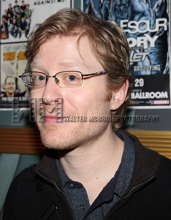 Anthony Rapp attending The 24 Hour Musicals After Party at the Gramercy Theatre in New York City.
