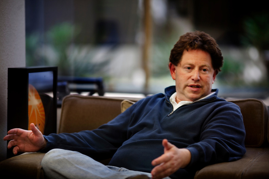 Santa Monica, California, May 28, 2010 - A portrait of Bobby Kotick, CEO of Activision Blizzard, during an interview at Activision's offices in Santa Monica, California. Activision Blizzard is a video game developer and publisher of such titles as Guitar Hero, Tony Hawk and Call of Duty: Modern Warfare. .