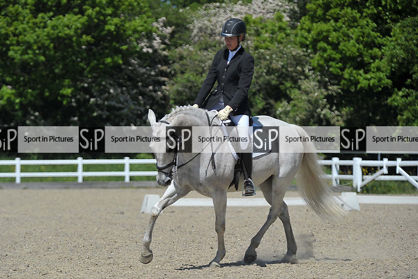 Class 5. Unaffiliated dressage. Brook Farm training centre. Essex. 19/05/2018. ~ MANDATORY Credit Garry Bowden/Sportinpictures - NO UNAUTHORISED USE - 07837 394578