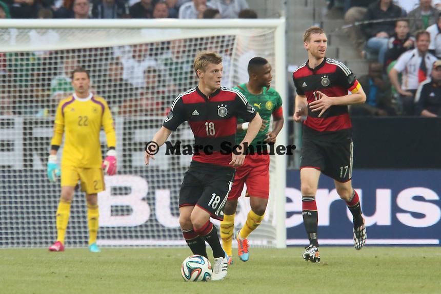 Toni Kroos (D) - Deutschland vs. Kamerun, Mönchengladbach
