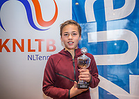 Hilversum, Netherlands, December 3, 2017, Winter Youth Circuit Masters, 12,14,and 16 years, 4 th place boys  12 years Boudewijn Willems<br /> Photo: Tennisimages/Henk Koster