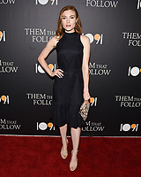 "30 July 2019 - Los Angeles, California - Skyler Samuels. ""Them That Follow"" Los Angeles Premiere held at the Landmark Theatre. Photo Credit: Billy Bennight/AdMedia"