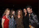 "One Life To Live Matt Walton ""Elijah Clarke"" and wife Alecia Hurst (middle) and Amy Hargreaves (red) Homeland and Lisa Goldberg (2nd L) at The Canal Room as it celebrates its 10th Anniversary on September 16, 2013 at ""Back to the 80s Show with Jessie's Girl"" in New York City, New York. (Photo by Sue Coflin/Max Photos)"