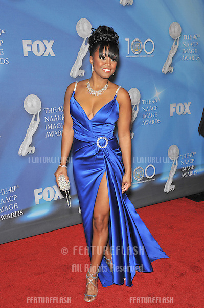 Keshia Knight Pulliam at the 40th NAACP Image Awards at the Shrine Auditorium, Los Angeles..February 12, 2009 Los Angeles, CA.Picture: Paul Smith / Featureflash