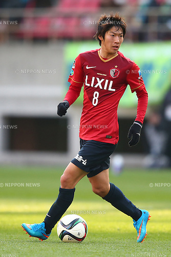 Shoma Doi (Antlers),<br /> MARCH 14, 2015 - Football / Soccer : <br /> 2015 J1 League 1st stage match between<br /> Kashima Antlers 1-2 Shonan Bellmare<br /> at Kashima Soccer Stadium in Ibaraki, Japan.<br /> (Photo by Shingo Ito/AFLO SPORT)