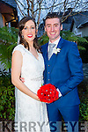 Triona Evans, Castlemaine, daughter of Tom and Joan Evans and Aaron Cahillane, Kenmare, son of John and Kathleen Cahillane were married at St. Gobnait Church Keel Castlemaine by Fr. Luke Roch on Saturday 12th December 2015 with a reception at Ballygarry House Hotel