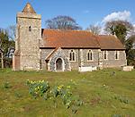 Village parish church of Saint Mary, Boyton, Suffolk, England, UK