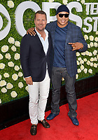 Chris O'Donnell &amp; LL Cool J at CBS TV's Summer Soiree at CBS TV Studios, Studio City, CA, USA 01 Aug. 2017<br /> Picture: Paul Smith/Featureflash/SilverHub 0208 004 5359 sales@silverhubmedia.com
