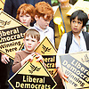 Nick Clegg unveils a new,  poster attacking Theresa May&rsquo;s decision to scrap free school lunches and replace them breakfasts costed at just 7p each. <br /> 31st May 2017 <br /> Geraldine Mary Harmsworth Park, London, Great Britain <br /> <br /> children watch the speech <br /> <br /> Photograph by Elliott Franks <br /> Image licensed to Elliott Franks Photography Services