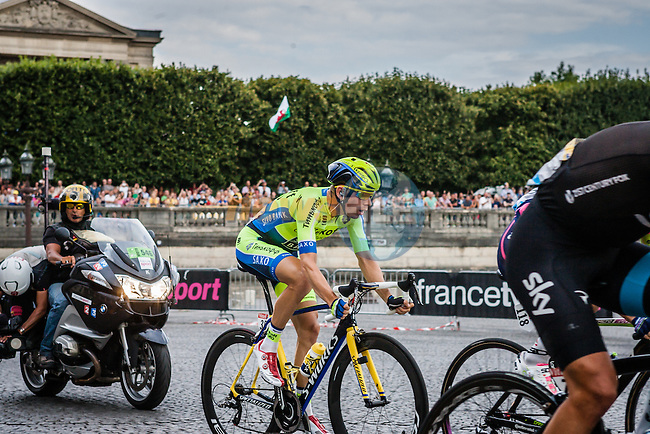 Michael Mørkøv (DEN) of Tinkoff-Saxo, Tour de France, Stage 21: Évry > Paris Champs-Élysées, UCI WorldTour, 2.UWT, Paris Champs-Élysées, France, 27th July 2014, Photo by Pim Nijland