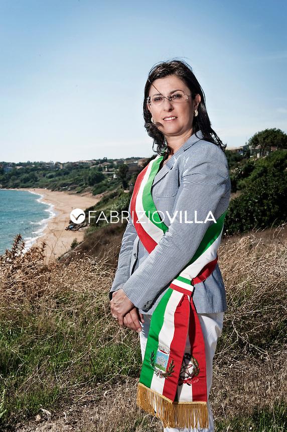 Carolina Girasole, sindaco di Isola Capo Rizzuto, provincia di Crotone.