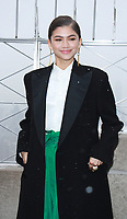 NEW YORK, NY - DECEMBER 9:  Zendaya pictured as the cast of The Greatest Showman attend the Empire State Building in New York City on December 9, 2017. Credit: RW/MediaPunch /nortephoto.com NORTEPHOTOMEXICO