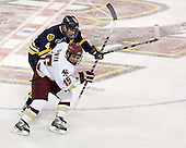 Bryan Schmidt, Stephen Gionta - Boston College defeated Merrimack College 3-0 with Tim Filangieri's first two collegiate goals on November 26, 2005 at Kelley Rink/Conte Forum in Chestnut Hill, MA.