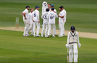 Matt Milnes of Kent departs the filed having being stumped by Adam Wheater during Kent CCC vs Essex CCC, Friendly Match Cricket at The Spitfire Ground on 27th July 2020