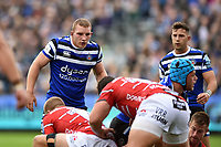 Sam Underhill of Bath Rugby. Gallagher Premiership match, between Bath Rugby and Gloucester Rugby on September 8, 2018 at the Recreation Ground in Bath, England. Photo by: Patrick Khachfe / Onside Images