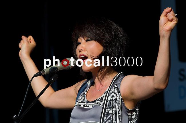 Youn Sun Nah en el 47 Heineken Jazzaldia