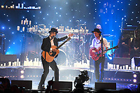 LONDON, ENGLAND - SEPTEMBER 6: Carl Barat and Peter Doherty with 1001 candles performing at Hackney Empire on September 6, 2019 in London, England.<br /> CAP/MAR<br /> ©MAR/Capital Pictures