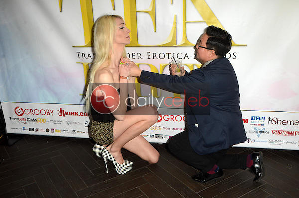 Holly Parker, Kristel Penn<br /> at the Transgender Erotica Awards After Party, Bardot, Hollywood, CA 03-07-16<br /> David Edwards/Dailyceleb.com 818-249-4998