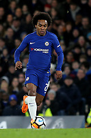 Willian of Chelsea in action during Chelsea vs Hull City, Emirates FA Cup Football at Stamford Bridge on 16th February 2018