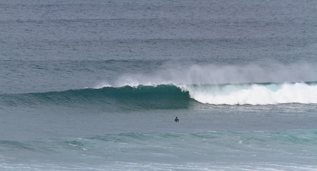 Surfing at Gwithian / Godrevy