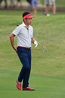 Yuta Ikeda (JAP) on the 1st during the 1st round at the WGC Dell Technologies Matchplay championship, Austin Country Club, Austin, Texas, USA. 22/03/2017.<br /> Picture: Golffile | Fran Caffrey<br /> <br /> <br /> All photo usage must carry mandatory copyright credit (&copy; Golffile | Fran Caffrey)