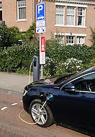 Oplaadpunt voor een elektrische auto