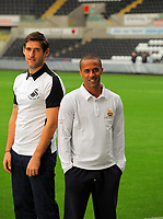 Pictured: Wayne Routledge and Danny Graham<br />