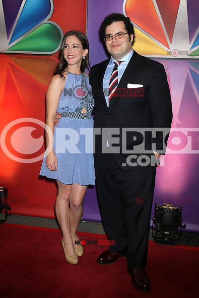 Martha MacIsaac and Josh Gad at NBC's Upfront Presentation at Radio City Music Hall on May 14, 2012 in New York City. ©RW/MediaPunch Inc.