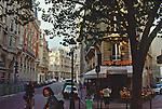 Paris, France, Rue de Saint Andre, Street scene off Boulevard Saint Germain, Left Bank, 6th Arrondissement, Europe,.