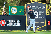 Shane Lowry (IRL) during the third round of the Turkish Airlines Open, Montgomerie Maxx Royal Golf Club, Belek, Turkey. 09/11/2019<br /> Picture: Golffile | Phil INGLIS<br /> <br /> <br /> All photo usage must carry mandatory copyright credit (© Golffile | Phil INGLIS)