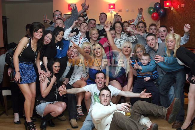 Hannah Gribbon's 18th in Nano Reids...Photo NEWSFILE/Jenny Matthews.(Photo credit should read Jenny Matthews/NEWSFILE)....This Picture has been sent you under the condtions enclosed by:.Newsfile Ltd..The Studio,.Millmount Abbey,.Drogheda,.Co Meath..Ireland..Tel: +353(0)41-9871240.Fax: +353(0)41-9871260.GSM: +353(0)86-2500958.email: pictures@newsfile.ie.www.newsfile.ie.FTP: 193.120.102.198.