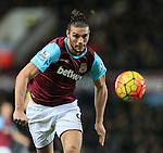 West Ham's Andy Carroll in action<br /> <br /> Barclays Premier League - West Ham United v Stoke City - Upton Park - England -12th December 2015 - Picture David Klein/Sportimage