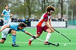 ALMERE - Hockey - Hoofdklasse competitie heren. ALMERE-HGC (0-1) .Floris Kuiper (Almere)    COPYRIGHT KOEN SUYK