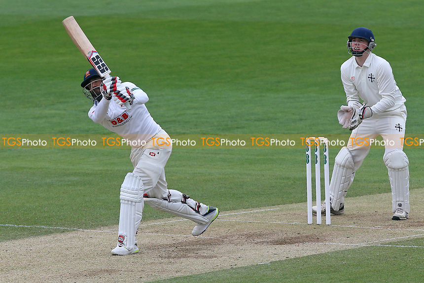 Ravi Bopara hits six runs for Essex during Essex CCC vs Durham MCCU, English MCC University Match Cricket at The Cloudfm County Ground on 4th April 2017