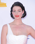 Jessica Pare. at The 64th Anual Primetime Emmy Awards held at Nokia Theatre L.A. Live in Los Angeles, California on September  23,2012                                                                   Copyright 2012 Hollywood Press Agency