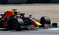10th July 2020; Styria, Austria; FIA Formula One World Championship 2020, Grand Prix of Styria free practice sessions;  33 Max Verstappen NLD, Aston Martin Red Bull Racing, takes the fastest lap at the Spielberg Austria