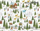Ingrid, GIFT WRAPS, GESCHENKPAPIER, PAPEL DE REGALO, Christmas Santa, Snowman, Weihnachtsmänner, Schneemänner, Papá Noel, muñecos de nieve, paintings+++++,USISMC45WN,#gp#,#x#