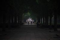 Le Yonghegong (Temple des Lamas) ferme ses portes  pour le soir.
